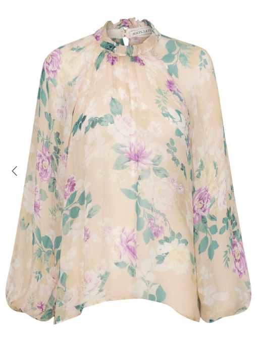 Donatella High Neck Blouse