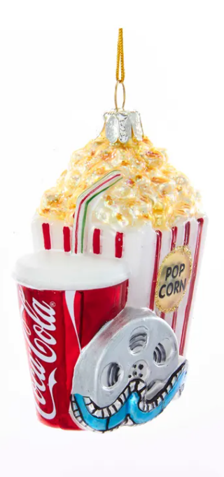 Popcorn/Movie Ornament