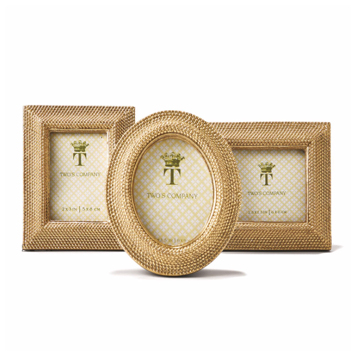 Tuileries Golden Dots Photo Frame
