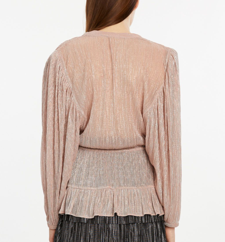 IRO-Paris Chrysie Top Blush