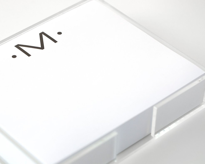 Lucite Tray for Notepad