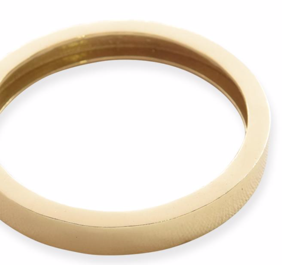 Round Brass Bangle