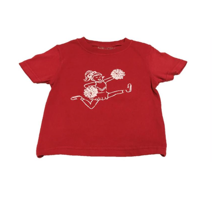Mustard & Ketchup Kids- Alabama Cheerleader S/S Tee