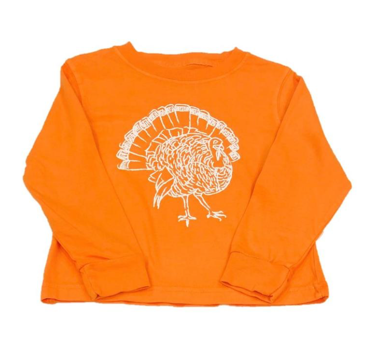 Mustard & Ketchup Kids- Turkey Long Sleeve Tee