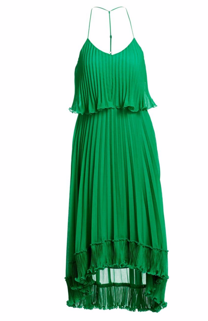 Halston Georgette Dress