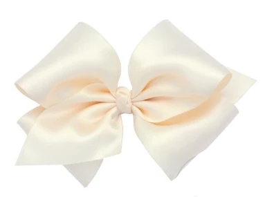 Small King Size French Satin Bow