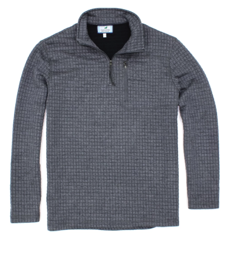 Delta Boys Pullover with Quarter Zip