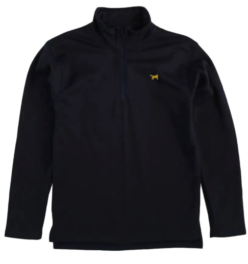 Quarter Zip Fleece-lined Pullover