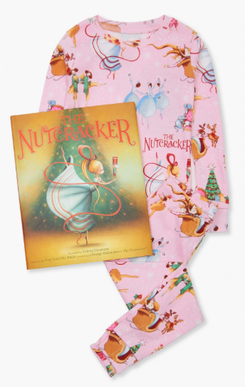 Nutcracker PJ's with Book