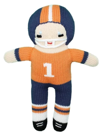 Football Player Rattle 7""