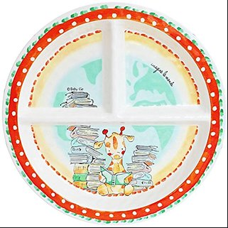 Baby Cie Kids Sectioned Plate