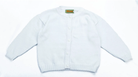 Crew Pointelle Cardigan with Pearly Buttons