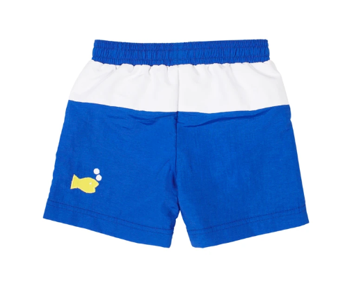 Swim Trunks with Submarine & Fish