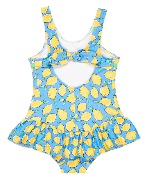 Lemon Print Swimsuit