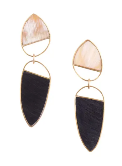 Mixed Horn Bangkok Earrings