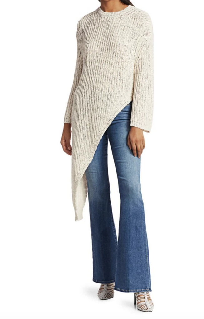 Nanushka Rodi Asymmetrical Sweater