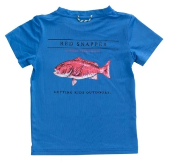 Red Snapper Performance Tee