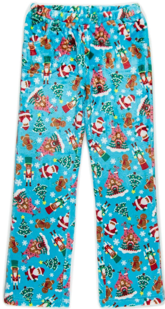 Fuzzy Fleece Pants (Christmas)