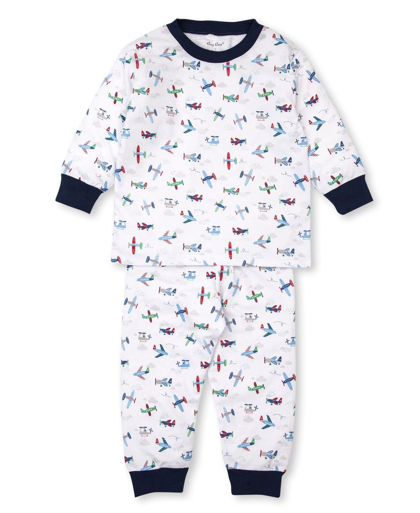 Awesome Airplanes Long Sleeve PJ Set