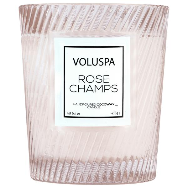 Voluspa Textured Glass Candle