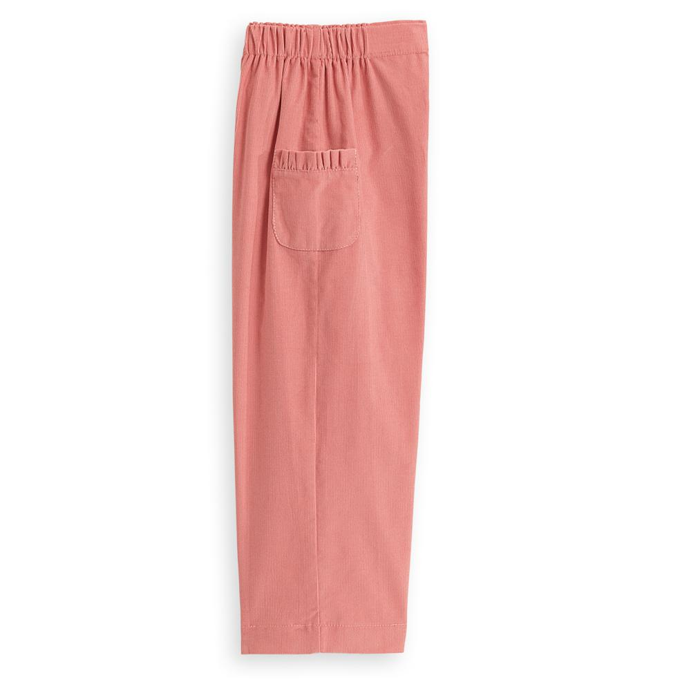 Ruffled Straight Leg Pant