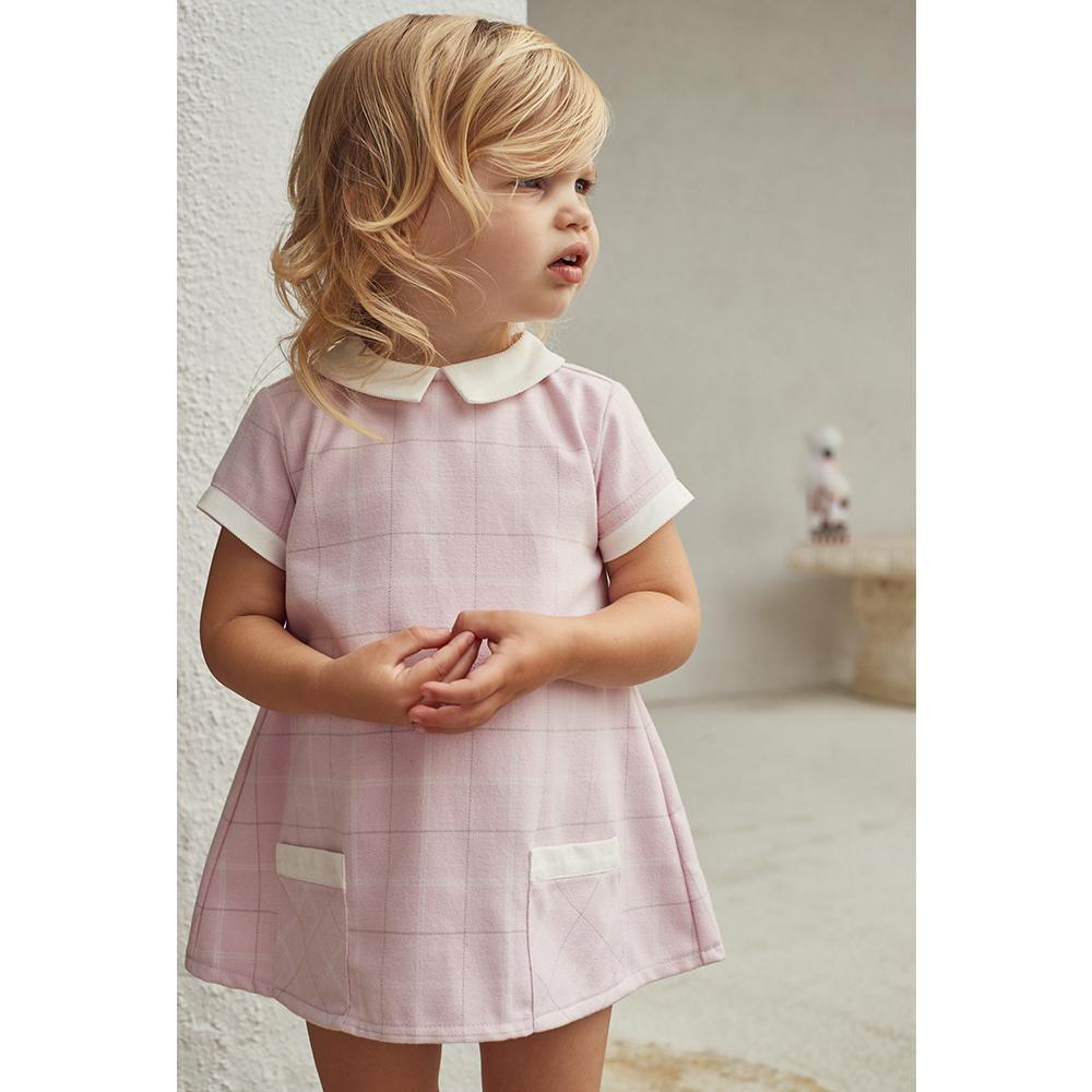 Girls Mabel Bellamy Plaid Dress