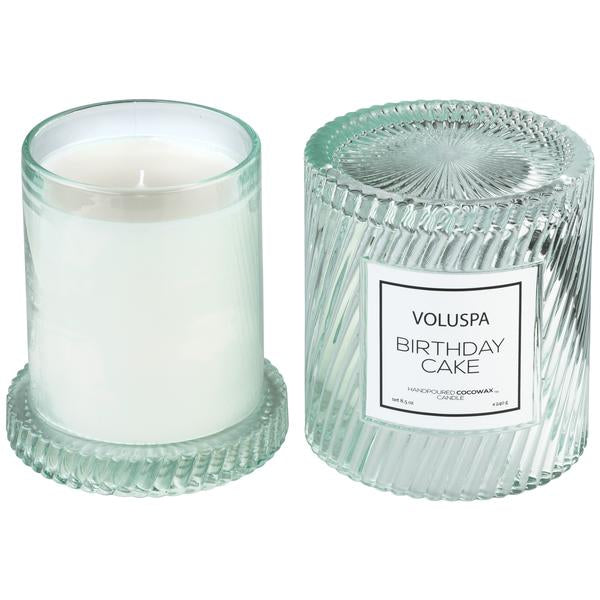 Glass Cloche Cover Candle