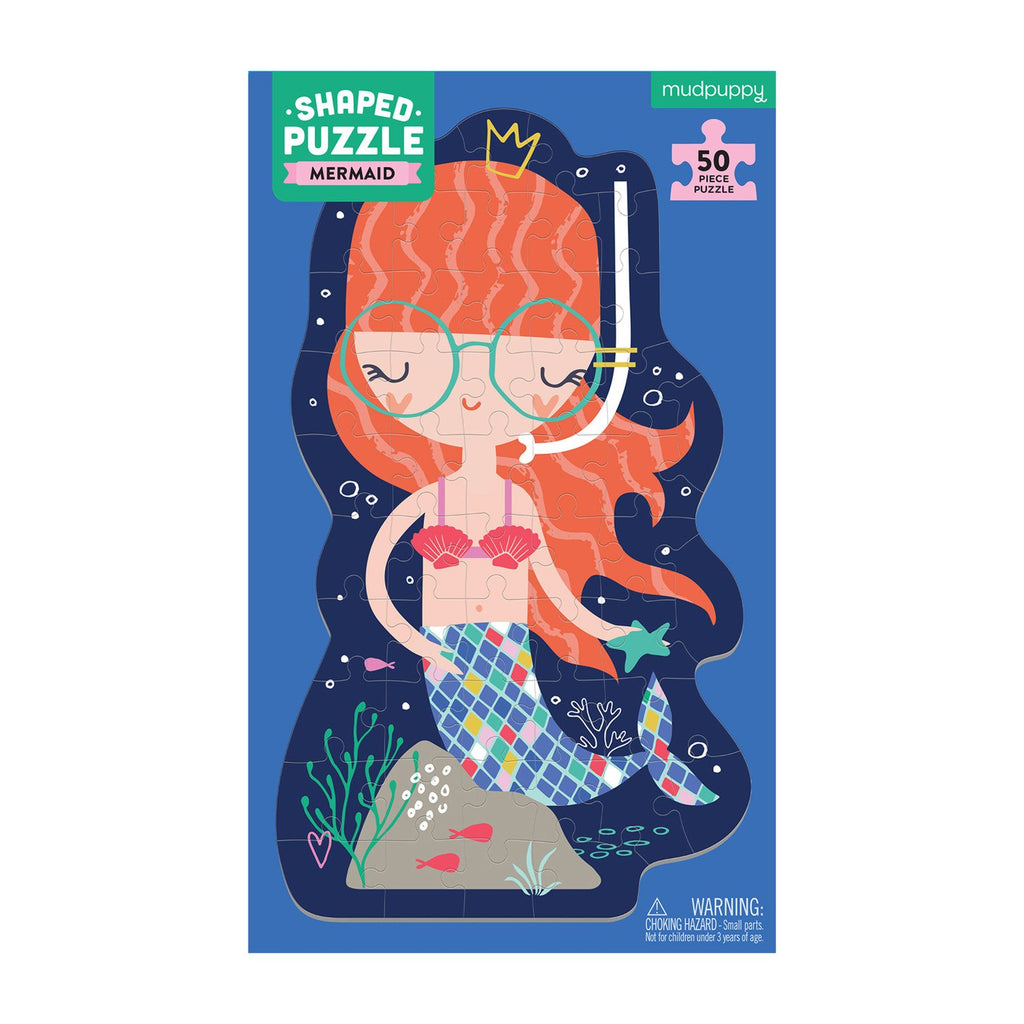 Mermaid Shaped Puzzle
