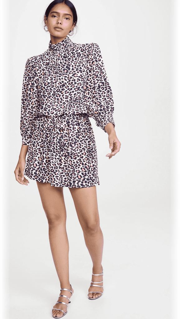 Rivali Leopard Print Dress