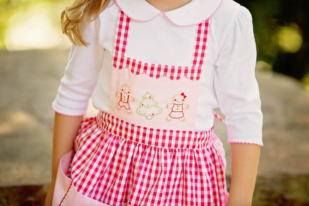 Girls Christmas Apron