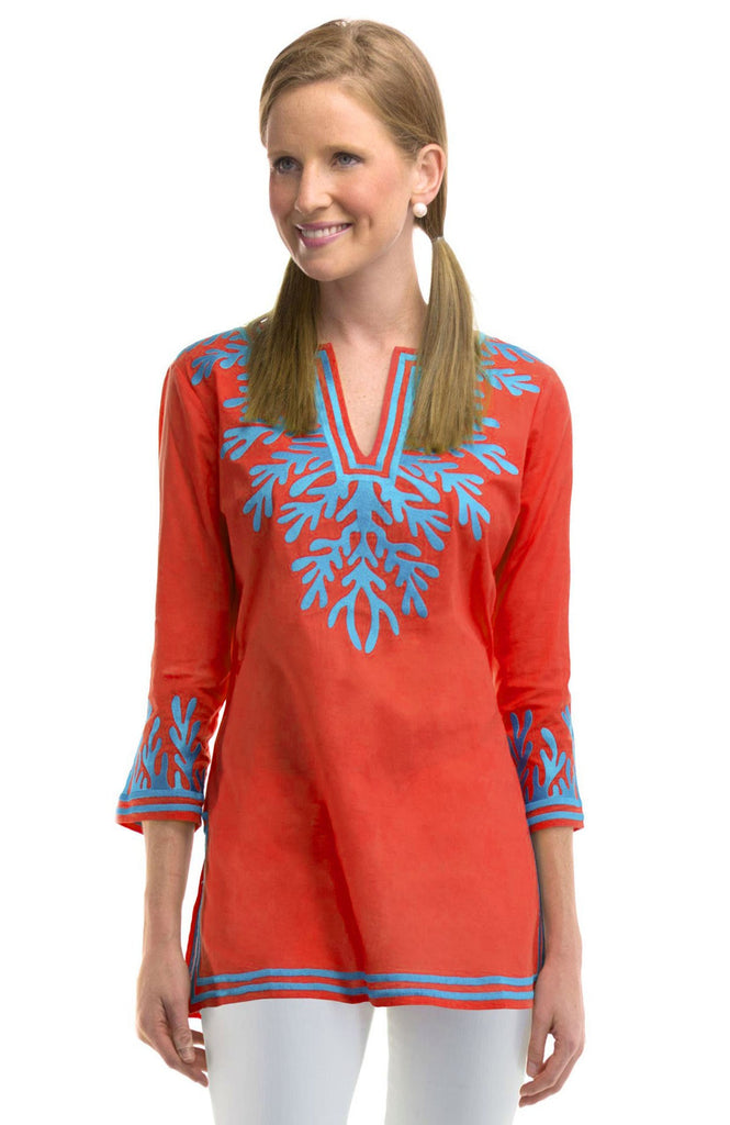 The Reef Embroidered Tunic
