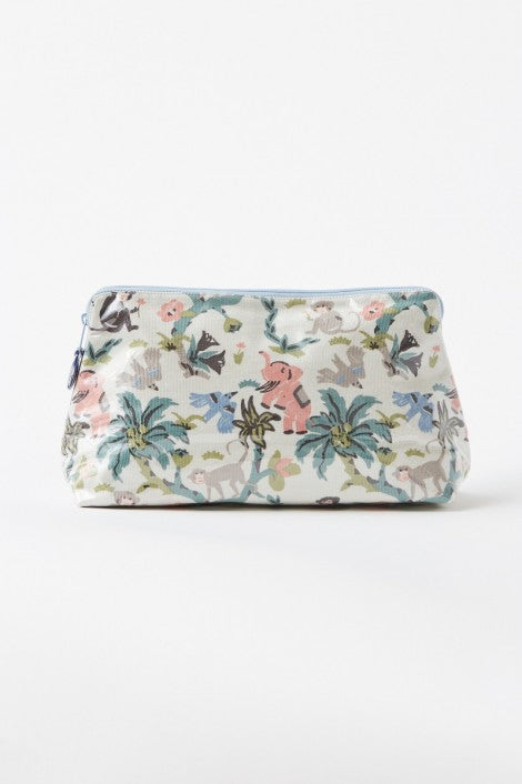 Vintage Jungle Makeup Bag