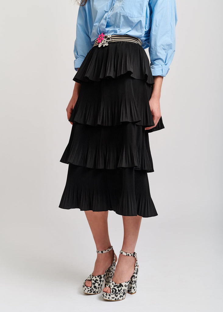 Vivian Ruffled Skirt