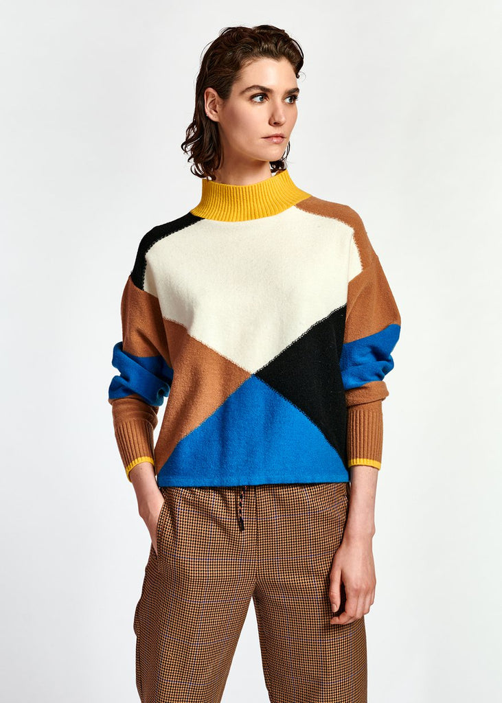 Wox Color Blocks Pullover