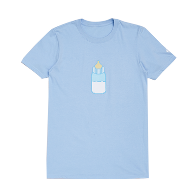 Bottle Tee - Baby Blue