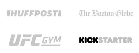 Huff Post, Bostom Globe, UFC Gym, Kickstarter - Hylux Press