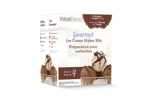 West Bend Chocolate and Vanilla Ice Cream Mix Combo Pack