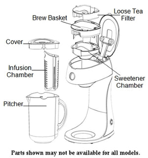 west-bend 68303 - Iced Tea Maker Replacement Parts.