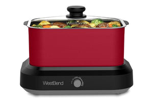 West Bend 6 Qt. Versatility Slow Cooker with Tote