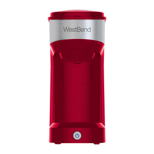 Single Serve Coffee Maker (Red)