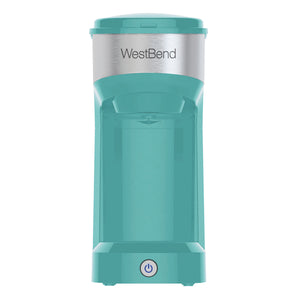 Single Serve Coffee Maker (Teal)