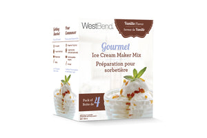 West Bend Vanilla Ice Cream Mix