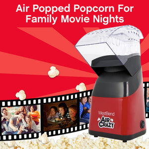 AirCrazy 4Qt. Hot Air Popcorn Machine-West Bend