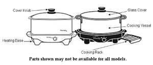 87156 - Slow Cooker, 6 Qt. Oval-Replacement Parts-West Bend