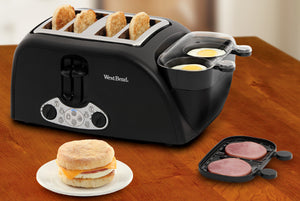 4 Slice Egg & Muffin Toaster