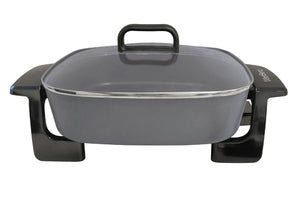 12-inch Square Skillet with Grease Channel