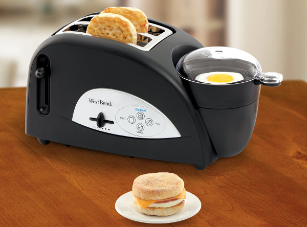 2 Slice Egg & Muffin Toaster