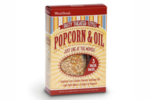 Popcorn & Oil 3-Pack-Popcorn-West Bend