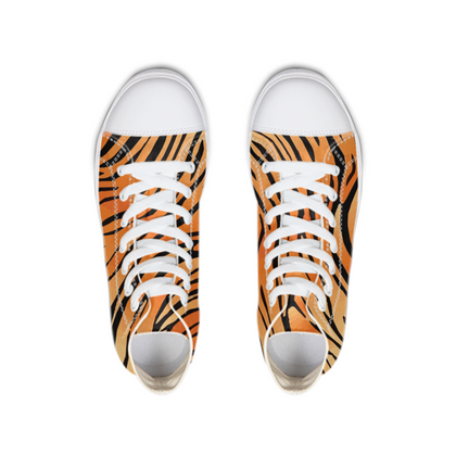 Tiger Print HIGHTOP CANVAS