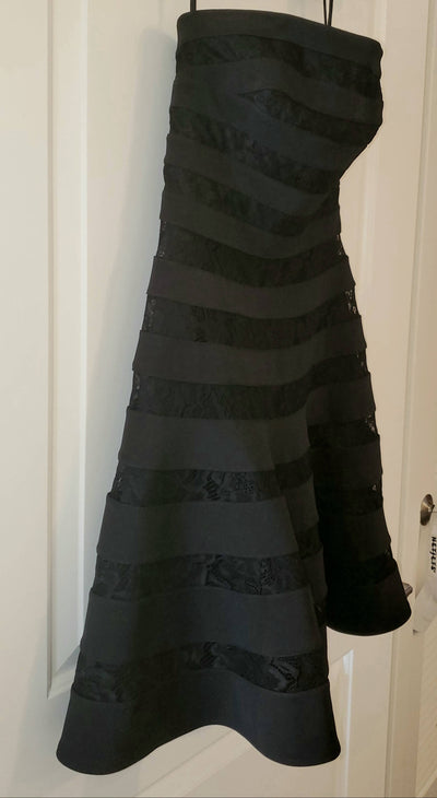 VERY flattering black dress